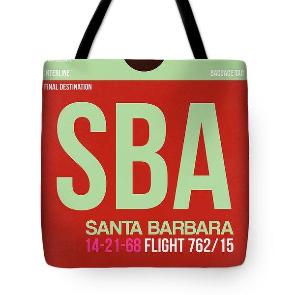 Sba Santa Barbara Luggage Tag II Tote Bag