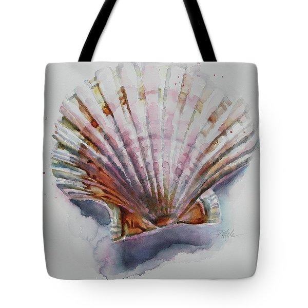 Scallop Seashell Tote Bag