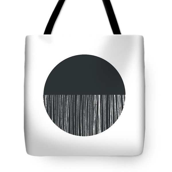 Scandi Moon 1- Art By Linda Woods Tote Bag