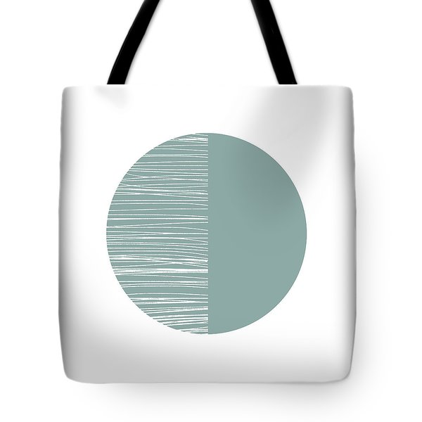Scandi Moon 2- Art By Linda Woods Tote Bag