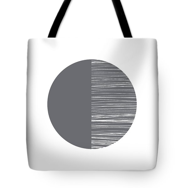 Scandi Moon 3- Art By Linda Woods Tote Bag
