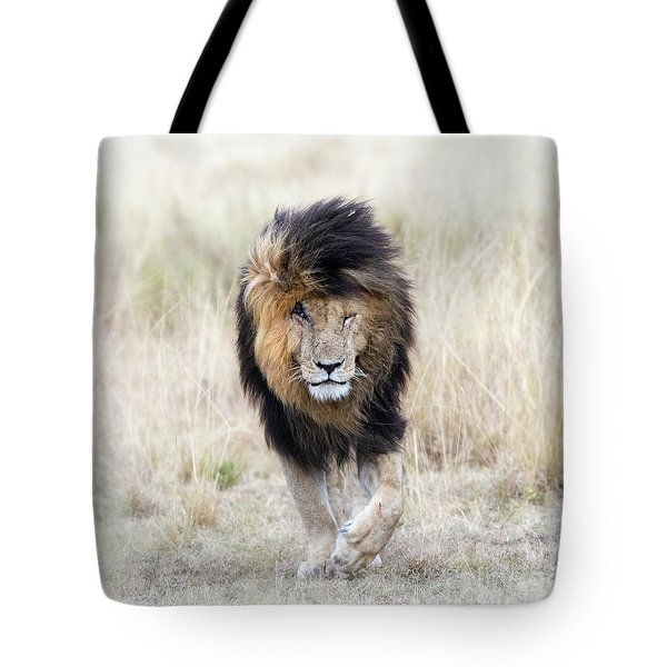 Scar The Lion Tote Bag