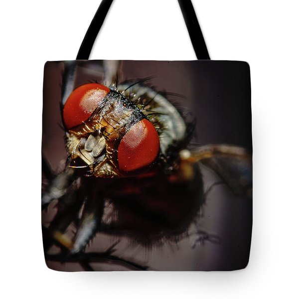Scavenger Close-up Tote Bag