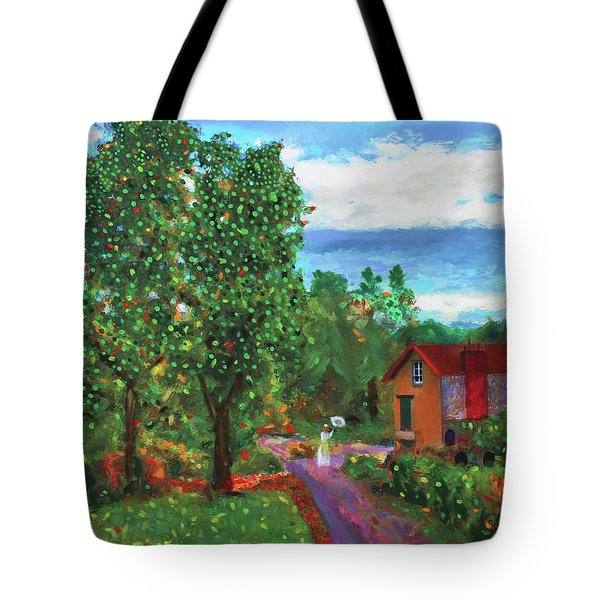 Scene From Giverny Tote Bag