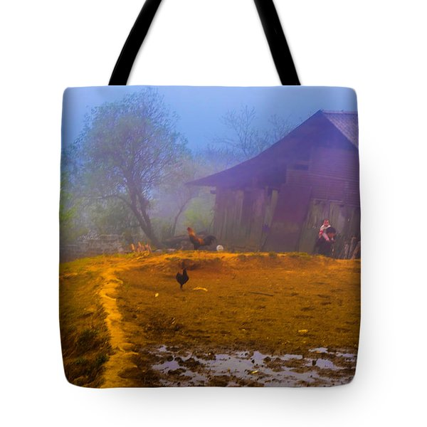Scene On A Hill - Sapa, Vietnam  Tote Bag