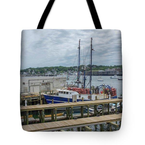 Scenic Harbor Tote Bag