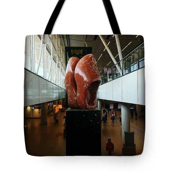 Schipol Airport Tote Bag