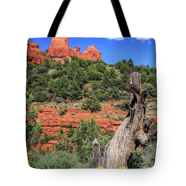 Schnebly Hill View, Sedona Tote Bag