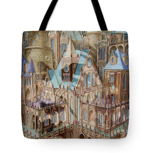Science City Tote Bag
