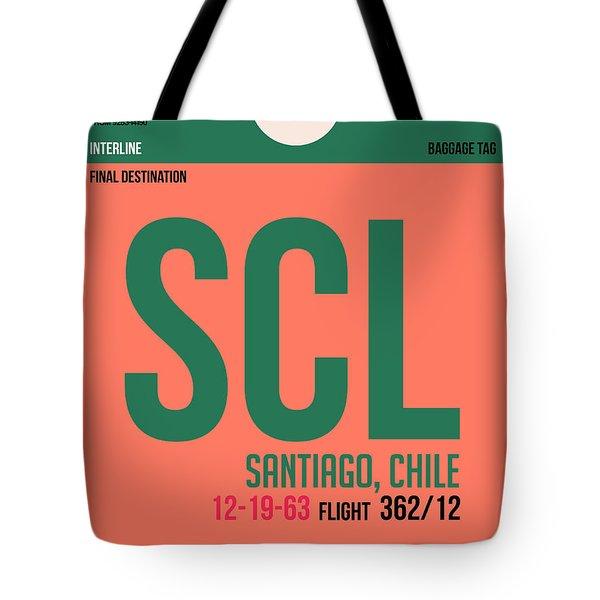 Scl Santiago Luggage Tag I Tote Bag