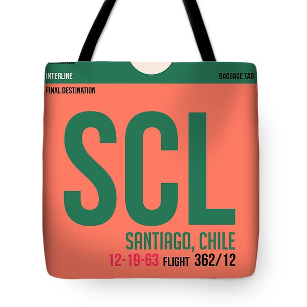 Scl Santiago Luggage Tag I Tote Bag