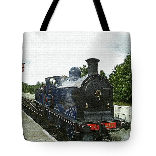 Scotland. Aviemore. Strathspey Railway. Tote Bag