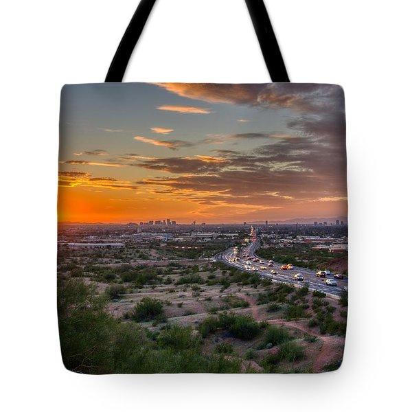Scottsdale Sunset Tote Bag