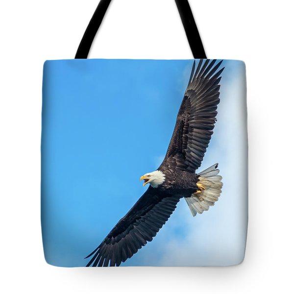 Screaming Eagle #2 Tote Bag