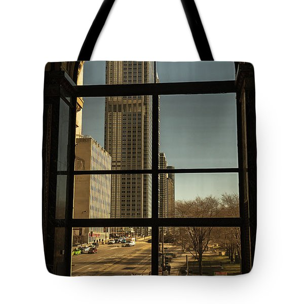 Sculpted View Tote Bag