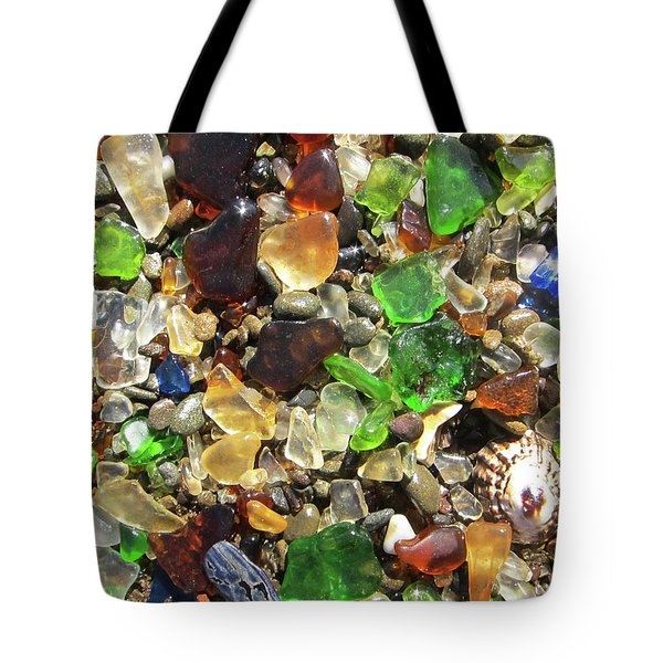 Tote Bag featuring the photograph Sea Glass by Shane Kelly