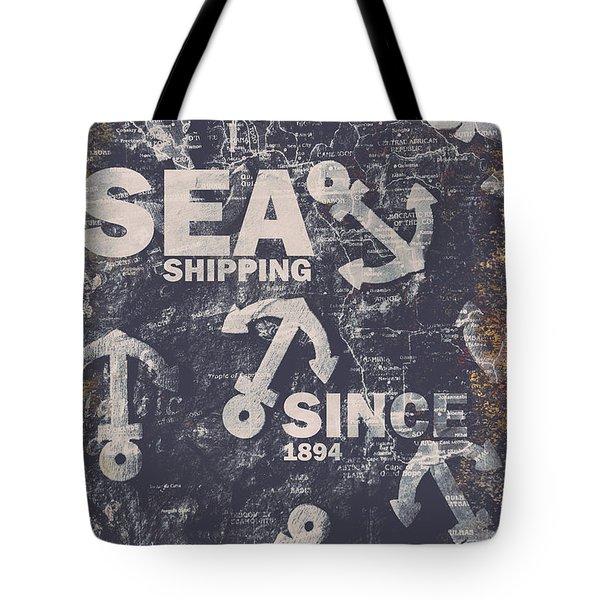 Sea Shipping Since 1894 Tote Bag