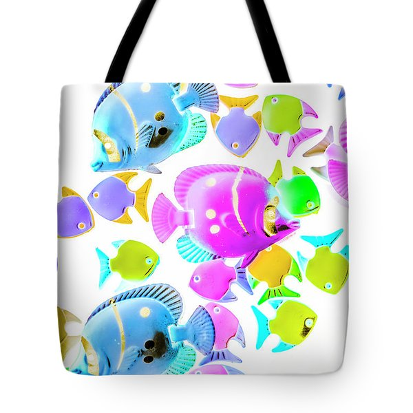 Sea Swimmers Tote Bag
