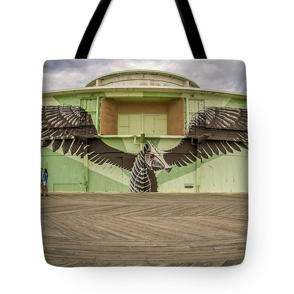 Tote Bag featuring the photograph Seahorse by Steve Stanger