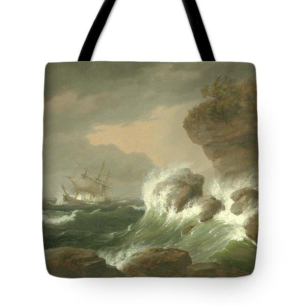 Seascape, 1835 Tote Bag
