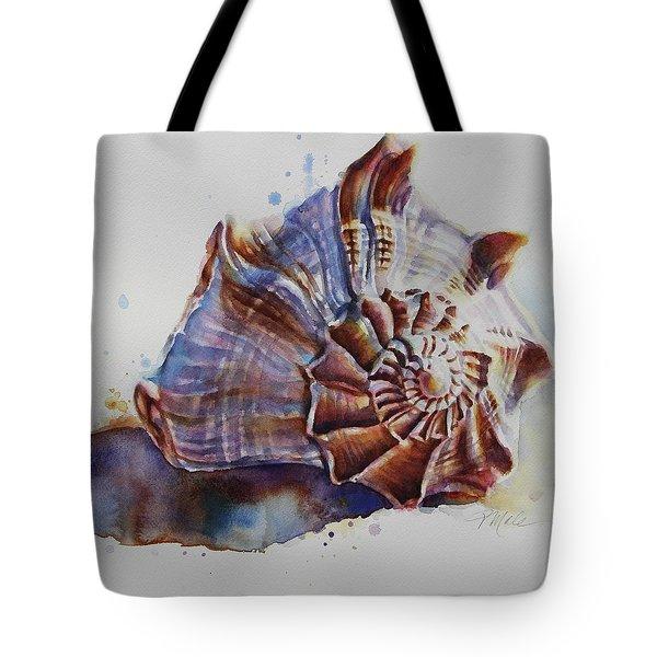 Seashell Swirl Tote Bag