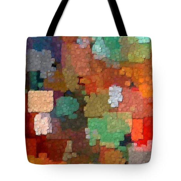 Tote Bag featuring the digital art Seasons by David Manlove