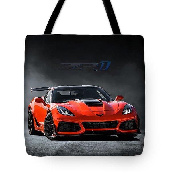 Sebring Orange Tote Bag