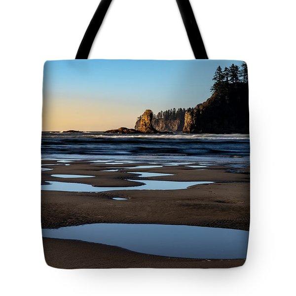 Second Beach Tote Bag