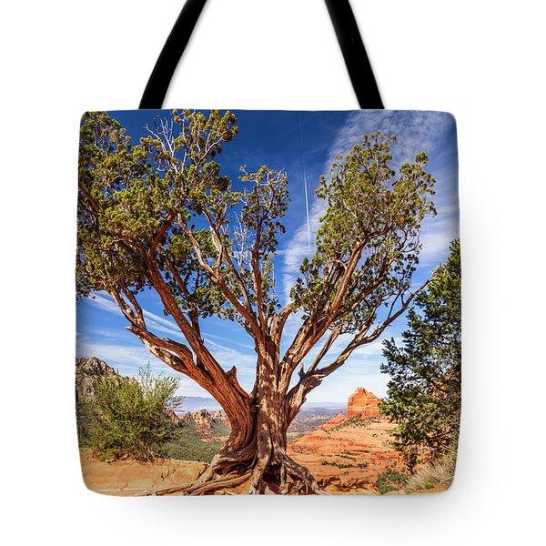 Sedona, Az - Merry-go-round The Utah Juniper Tote Bag