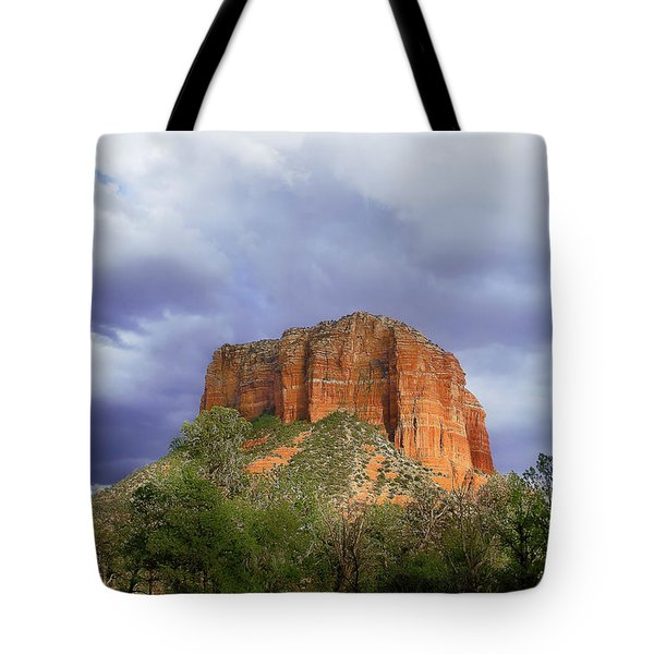 Devil's Mountain Tote Bag