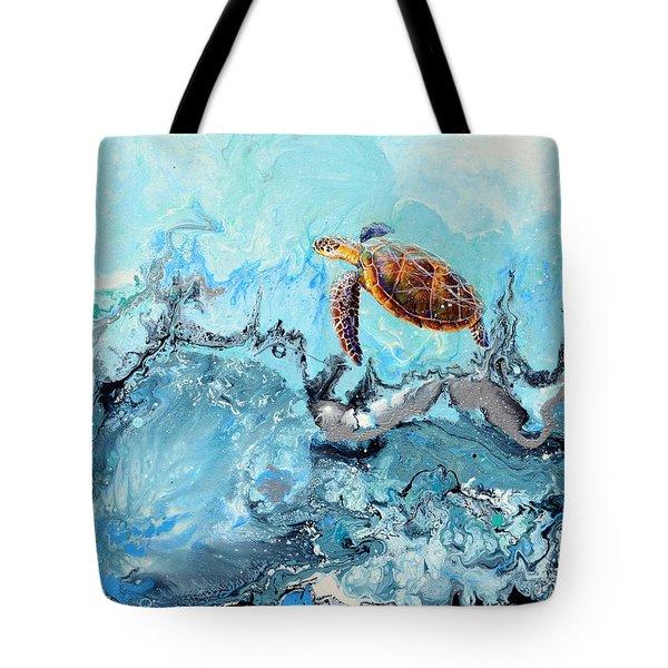 See Turtle Tote Bag