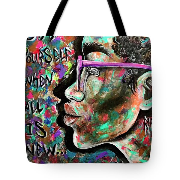 See Yourself When All Is New  Tote Bag