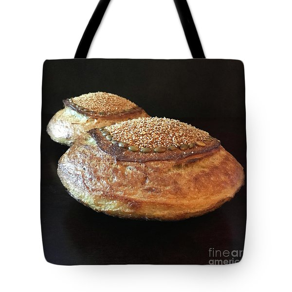 Seeded White And Rye Sourdough 2 Tote Bag
