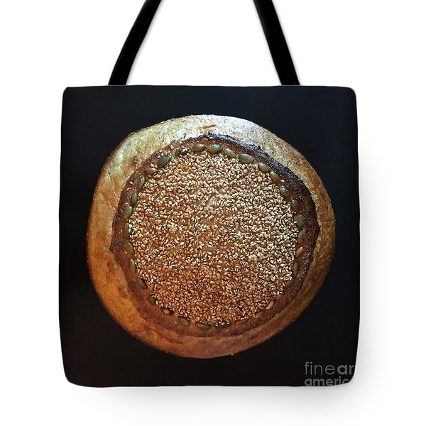 Seeded White And Rye Sourdough Tote Bag