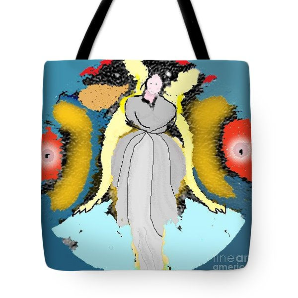 Seeing Angels Tote Bag