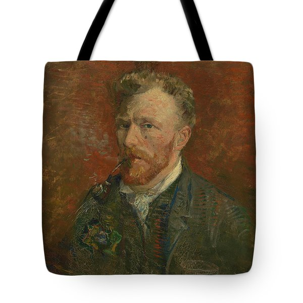Self-portrait With Glass Tote Bag