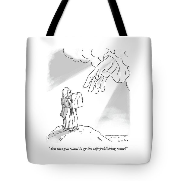 Self Publishing Tote Bag