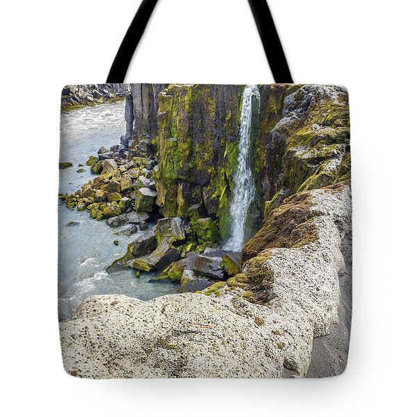 Tote Bag featuring the photograph Selfoss Waterfall - Iceland by Marla Craven