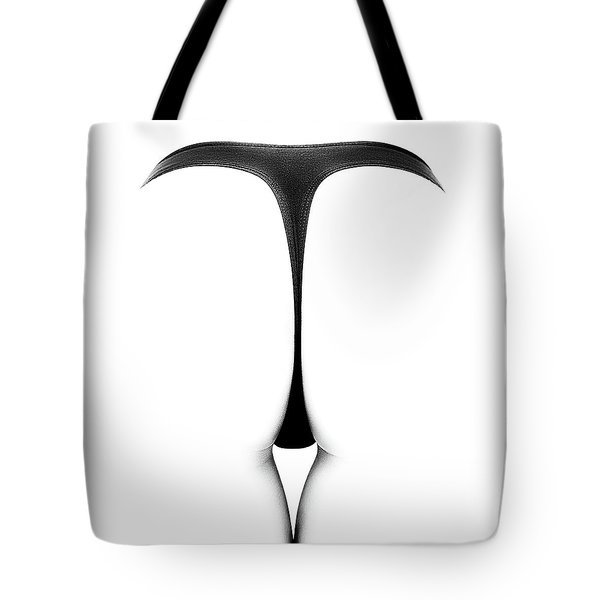 Sensual Abstract Buttocks Tote Bag
