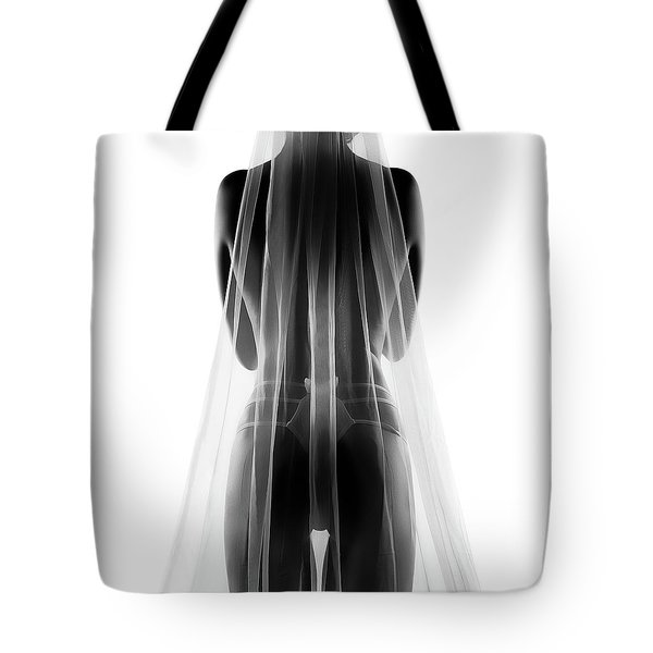 Sensual Bride In Lingerie2 Tote Bag