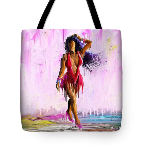Sensual Walk Tote Bag