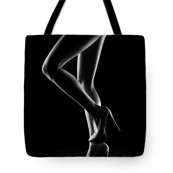 Sensual Woman Outlines 1 Tote Bag