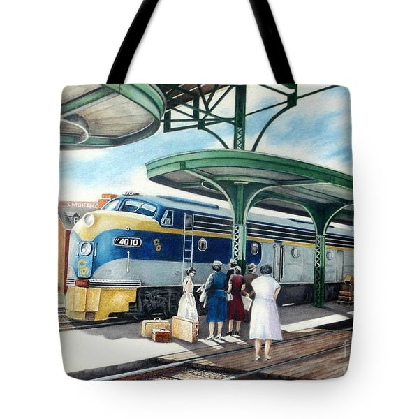 Sentimental Journey Tote Bag