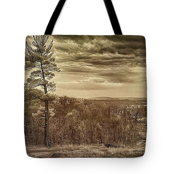 Sepia Sunset Tote Bag