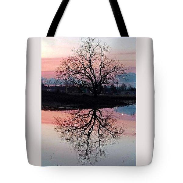 Serenity At Sunset Tote Bag