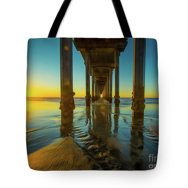 Serenity In San Diego Sunset 2 Tote Bag