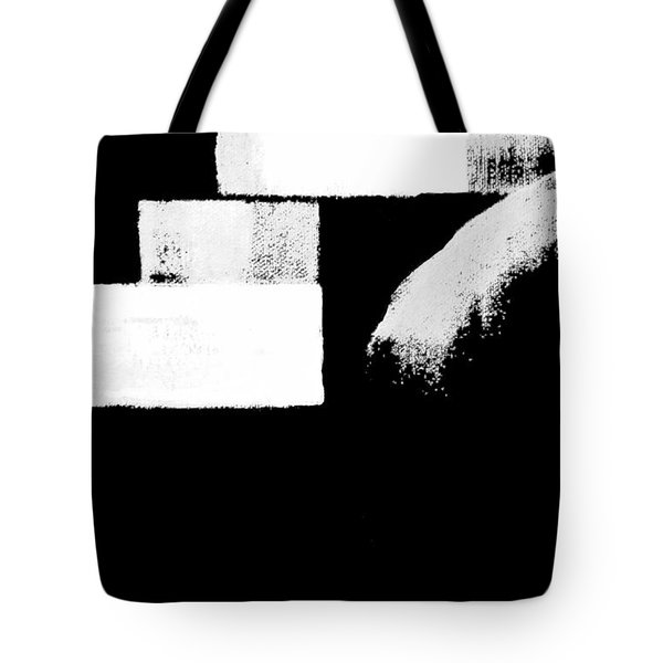 Seriously Black And White Tote Bag