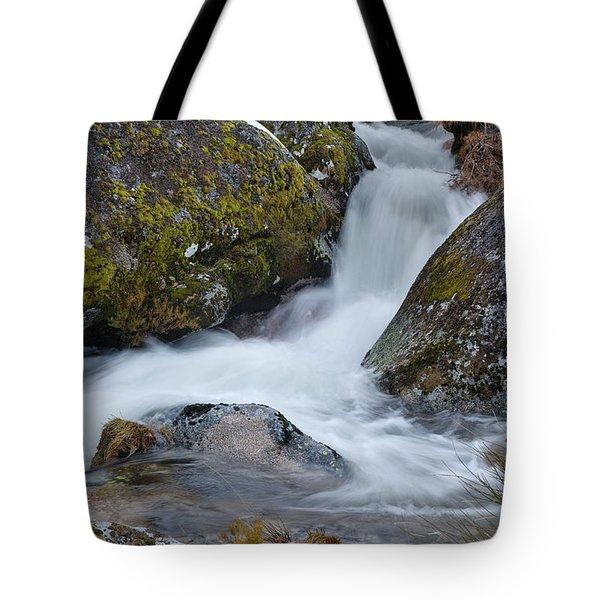 Serra Da Estrela Waterfalls. Portugal Tote Bag