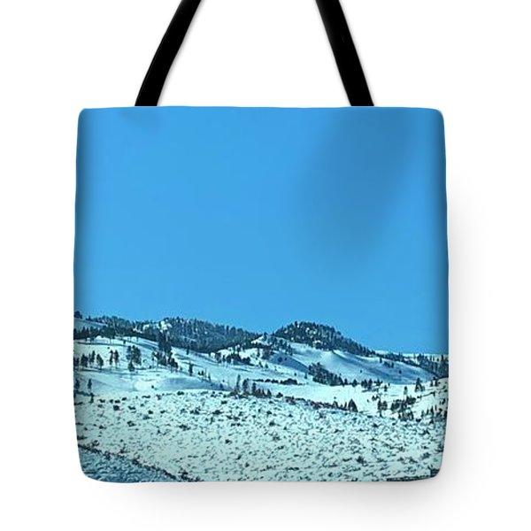 Serria Nevad Mountains Tote Bag