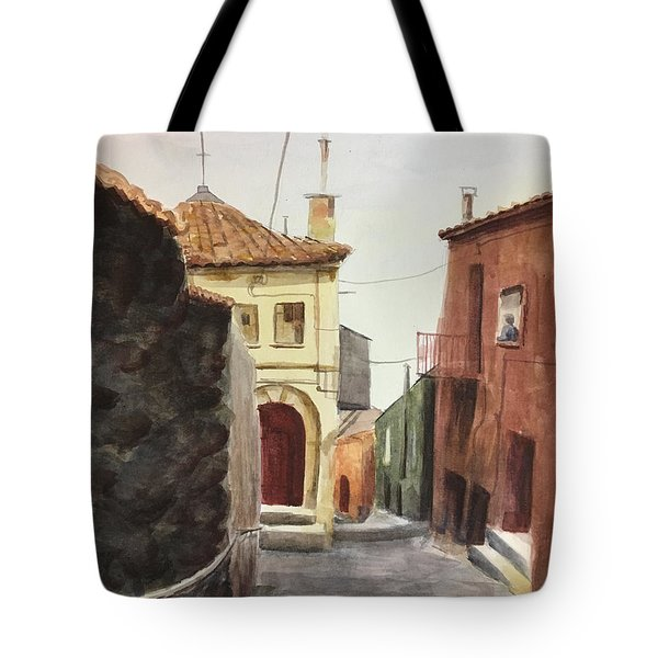 Sersale Street Tote Bag